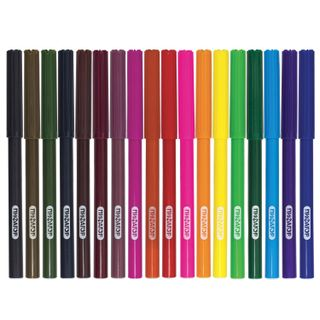 "Markers PYTHAGORAS ""bundling"", 18 colours, ventilated cap"