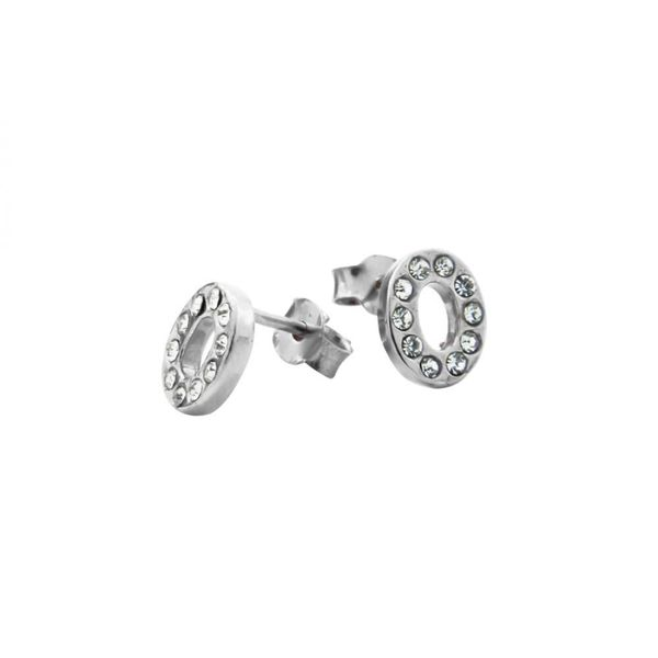 Earrings 30188 'Cercle' Avec Strass