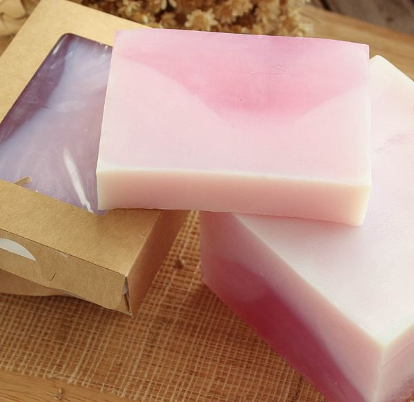 Delicate Lilac whetstone 450 g - handmade soap with the aroma of lilac
