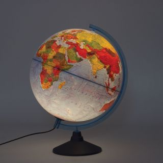 Globe interactive physical/political Globen, diameter 320 mm, with backlight