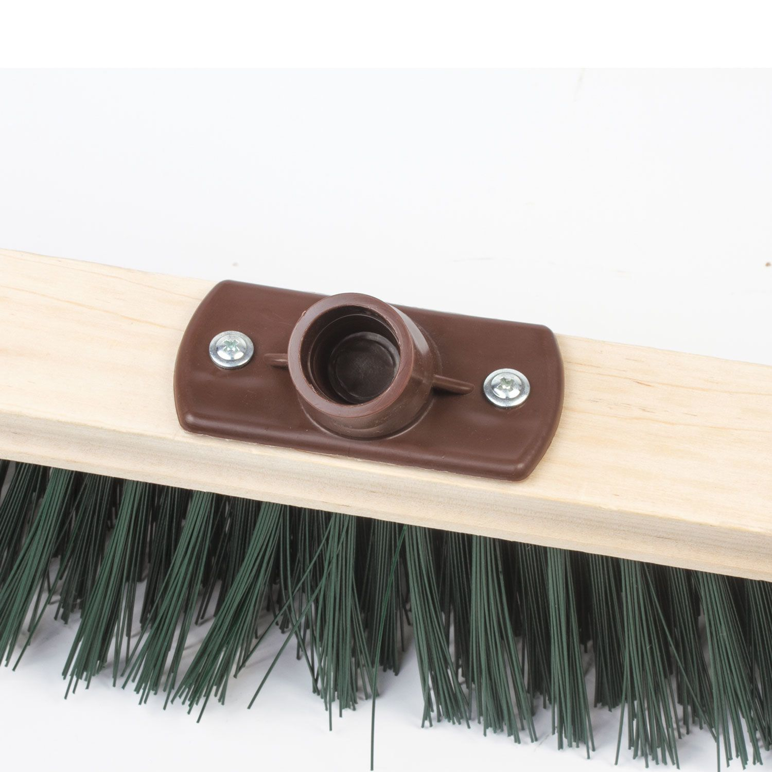 LIMA / EXPERT technical brush for cleaning, width 40cm, soft bristles 7cm, wood, Euro thread