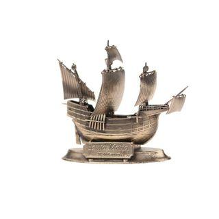 Scale replica of the ship