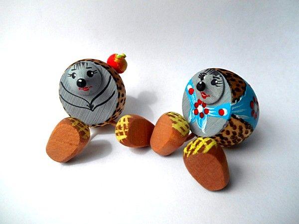 "Tver souvenirs / Fairy-tale characters ""Hedgehog"""