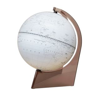 Outline globe with a diameter of 210 mm on a triangular stand