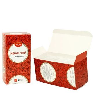 "Ivan-tea ""RUSICH"", packaged, rosehip tea, 20X2 g"