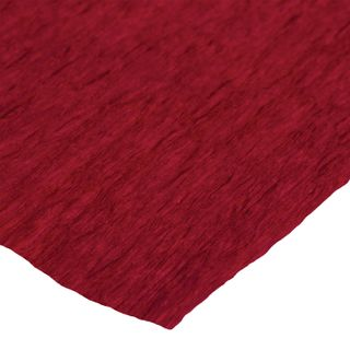 ISLAND OF TREASURES / Crepe paper for creativity and floristry, 110 g / m2, red, 50x250 cm