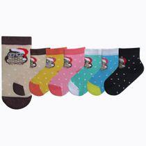 """Socks for children """"Owl"""" plush"""