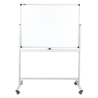 """Magnetic whiteboard AT THE STAND (90x120 cm), 2-sided, BRAUBERG """"PREMIUM"""""""
