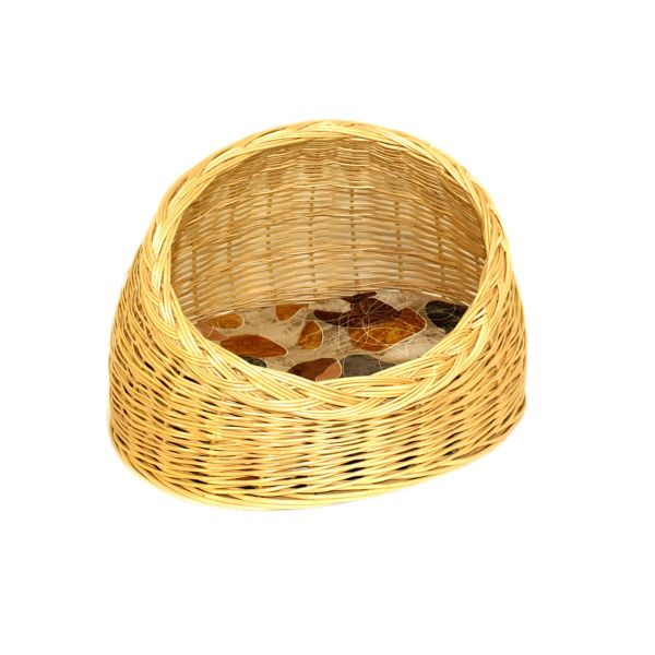 """Azimuth / Wicker house for a cat """"Oval"""" No. 1, 400х320 mm"""