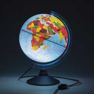 GLOBEN / Globe physical / political