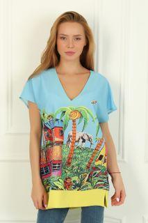 Blouse Tropicana Art. 3796