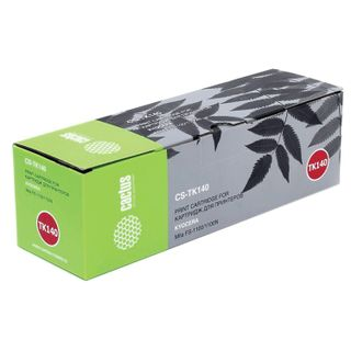 Toner cartridge CACTUS (CS-TK140) for KYOCERA Mita FS-1100 / FS1100N, resource 4000 pages.