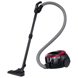 SAMSUNG vacuum cleaner VC18M31A0HP/EV, with the container