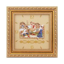 Panel clock 'Wedding'