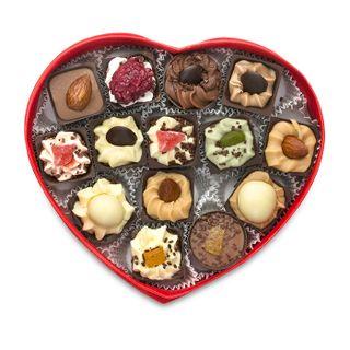 "A set of handmade chocolates ""Heart"""