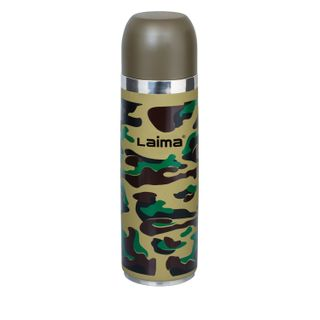 LIMA / Bottle thermos bottle, 0.5 l, stainless steel, khaki