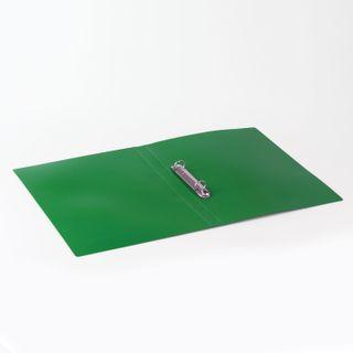 Folder on the 2 rings BRAUBERG Office, 32 mm, green, 250 sheets, 0.5 mm