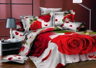 Satin bed linen 3D prima