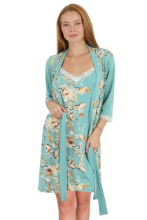 Bathrobe Florals 8S Art. 5842