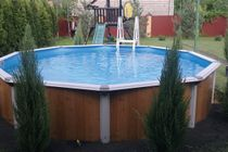 Pools and decorative forms