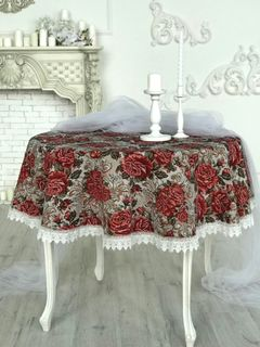 Tablecloth with lace Michelle
