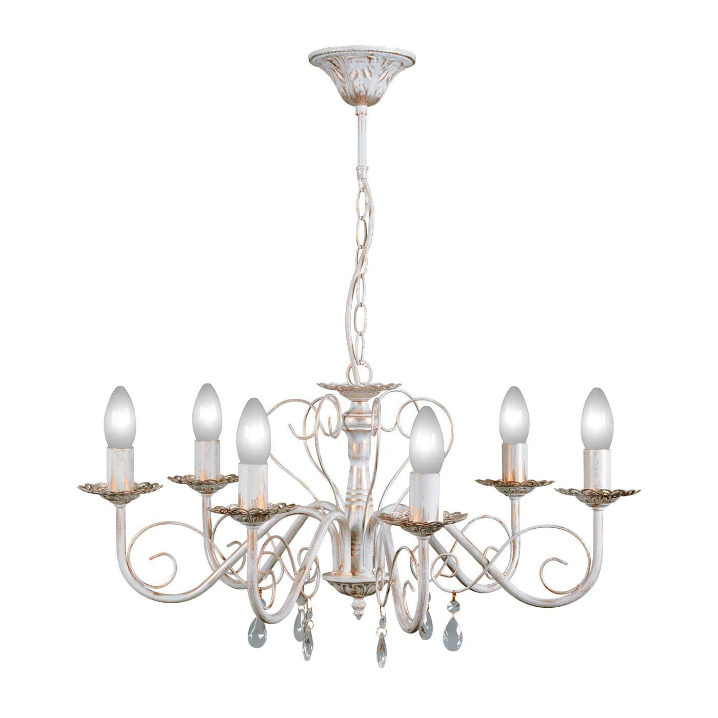 PETRASVET / Pendant chandelier S1023-6, 6xE14 max. 60W