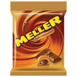 MELLER / Toffee sweets with chocolate, pack 100 g
