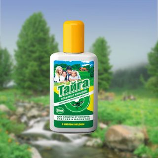 Taiga lotion repellent from mosquitoes 50 ml.