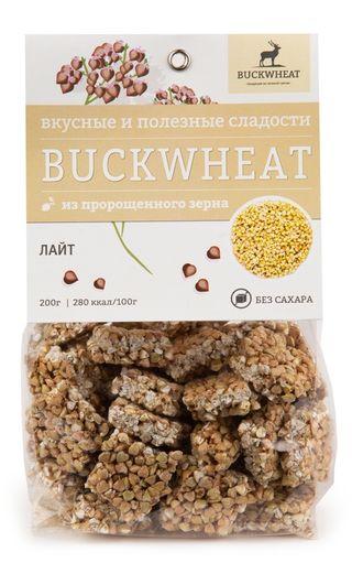Buckwheat / Sugar-free confectionery LITE, 200g, 8 pcs.