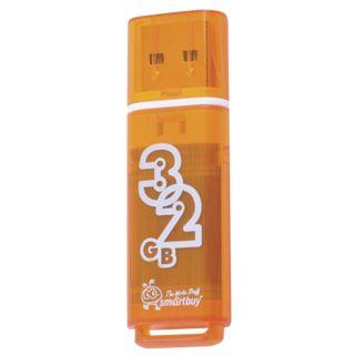 SMARTBUY / Flash drive 32 GB, Glossy, USB 2.0, orange