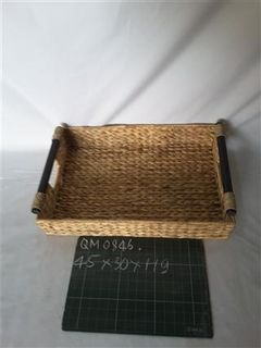 Anti-mold water hyacinth food tray fruit tray cheap price