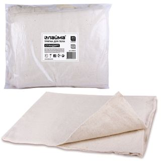 """LIMA / Rags """"Standard"""" for floor cleaning 80x100 cm, 210 g / m2, HPP, 100% cotton, set of 20 pcs."""