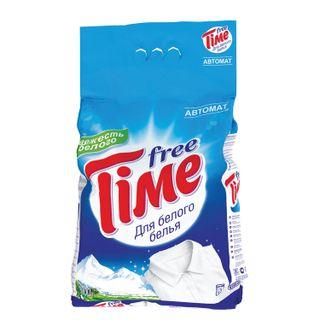 "Washing powder automatic FREE TIME (Free Time) ""For white"" (Nefis Cosmetics) 3 kg"
