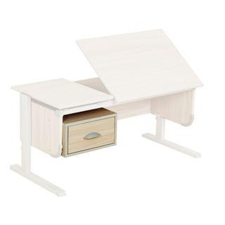 Tumba hinged for the desk DEMI SUT.29, 443x362x192 mm, 1 box, LDSP ash, TSN.03
