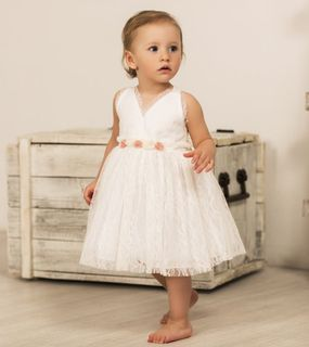 Guipure dress with 5 roses  ID: 1612106
