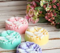 Handmade soap Flower Fairy - mix of colors