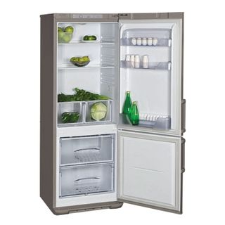 BIESA W134 fridge, two-chamber, 295 litres, bottom freezer 85 litres, matte graphite