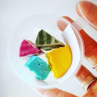 SET OF SAMPLES hard shampoo (mint, ocean, citrus, lavender)