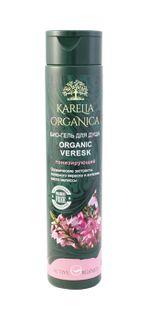 BIO- shower GEL  ORGANIC VERESK (HEATHER) TONING Other shower gels in the range: ORGANIC BRUSNIKA (COWBERRY) VITAMIN; ORGANIC GOLUBIKA (BLUEBERRY) REFRESHING
