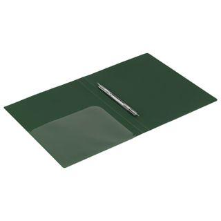 Folder with metal binder and inner pocket BRAUBERG