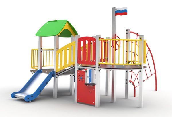 Playground for children, A 106 powder paint