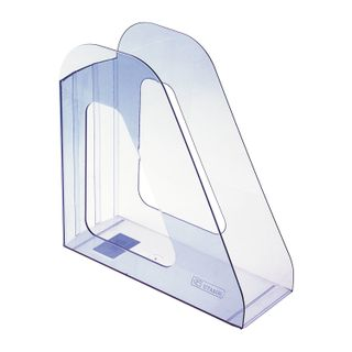 Tray vertical paper of STAMM Favorit (235х240 mm), width 90 mm, tinted blue