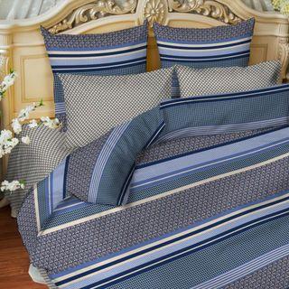"A set of bed linen from Mako-satin ""Magic silk"" - ""Geometry"""