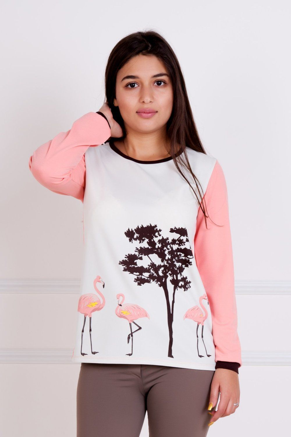Lika Dress / Blouse Flamingo Art. 1189
