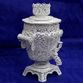 Souvenir 'Samovar small' silvering, Kazakovo Filigree - view 1