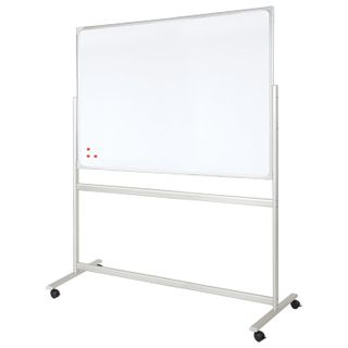 Board magnetic marker ON the STAND (90x120 cm), 2-party, OFFICE,