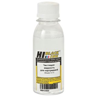 HI-BLACK cleaning liquid for inkjet cartridges, universal, 0.1 l