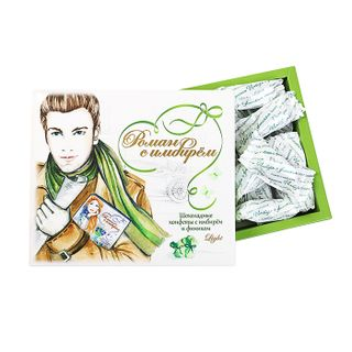"Candy ""Date with Ginger"" in dark chocolate, 180 g"