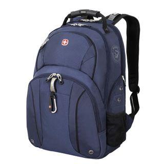 WENGER backpack, a versatile, blue-black, 26 liters, 34х16х48 cm