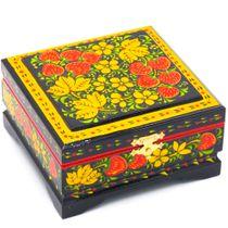 The box is wooden 120х115